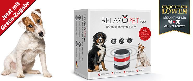 Relaxopet Pro Hund + Zugabe