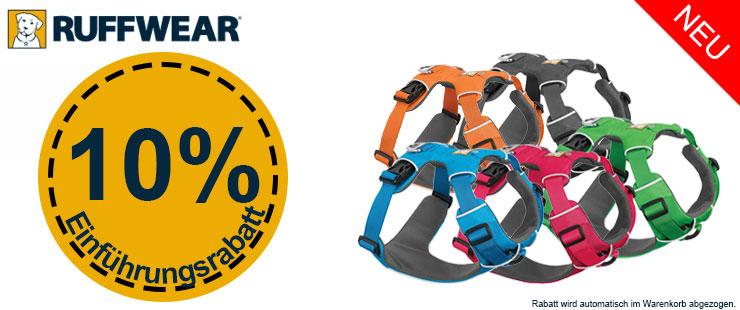 10% Einführungsrabatt Ruffwear