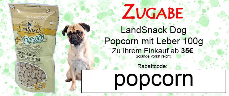 Zugabe Landsnack Popcorn