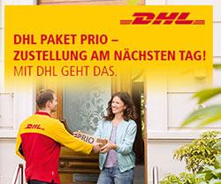 DHL Prio bevorzugte Zustellung