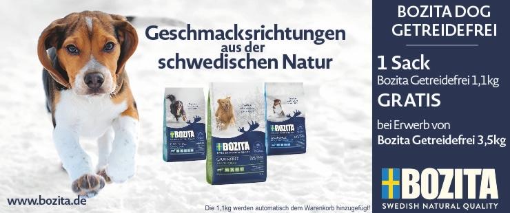 Bozita Grain Free 1,1kg Gratis