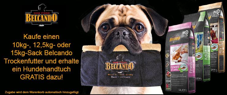 Belcando Zugabe Hundehandtuch