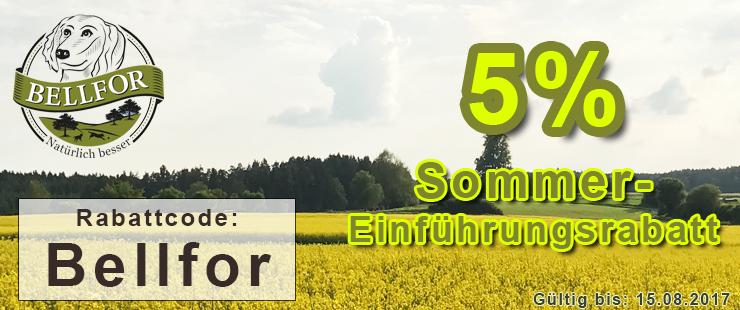 Bellfor 5% Sommereinführungsrabatt