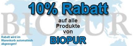 10% auf Biopur