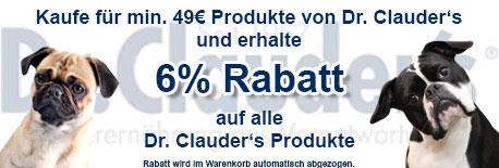 Dr. Clauders 6% Rabatt ab 49EUR