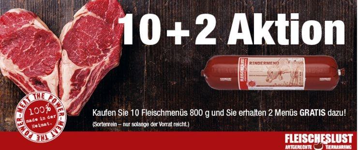 Fleischeslust Würste 10+2 Aktion