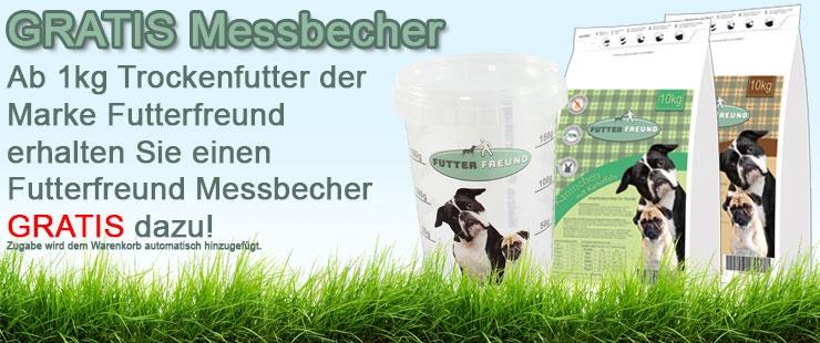 Futterfreund Trockenfutter GRATIS Messbecher