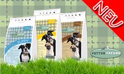 Futterfreund getreidefrei Hundefutter hoher Fleischanteil