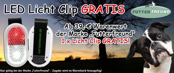 Futterfreund - Zugabe Licht Clip