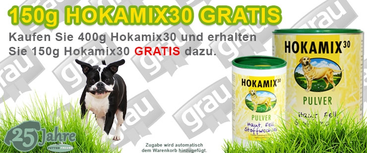 Grau Hokamix + 150g GRATIS