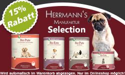 Herrmanns Hundefutter Selection zur Einführung