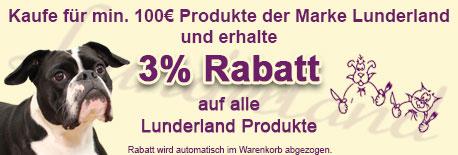 Lunderland ab 100€ 3% Rabatt