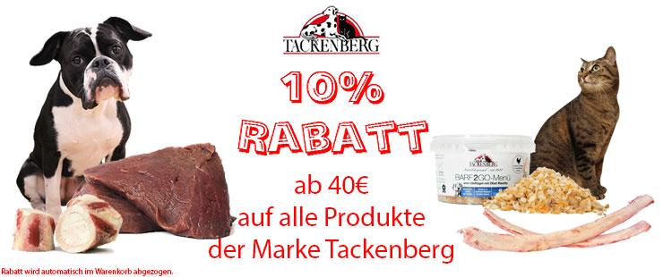 Tackenberg 10% Rabatt