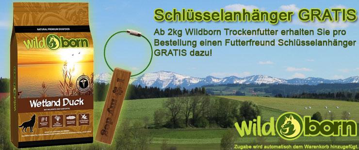 Wildborn Trockenfutter Zugaben-Aktion