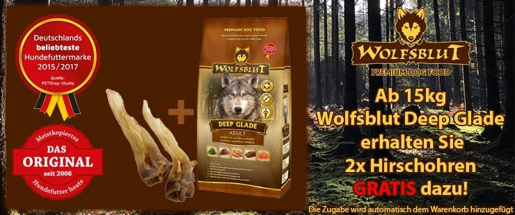 Wolfsblut Deep Glade Einführungsaktion