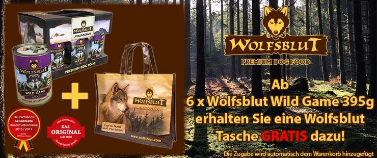 Wolfsblut Wild Game Zugabenaktion