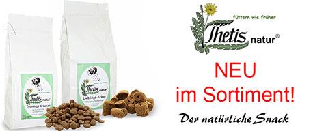 Thetis natur Snacks für Hunde