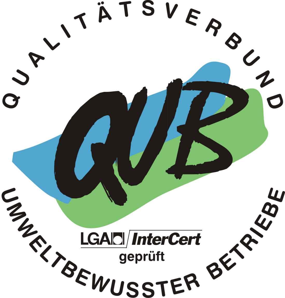 QuB Zertifiziert für Umweltbewusste Betriebsführung