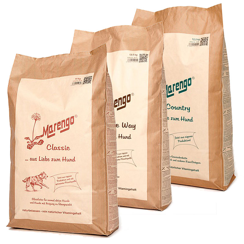 Marengo Hundefutter Sparpaket (Junior, Classic, Premium, Native, Country)