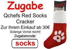 Zugabe - Qchefs Red Socks