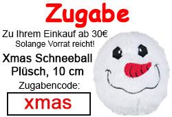 Zugabe Xmas Schneeball Spielzeug
