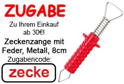 Zugabe - Zeckenzange