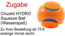 Gratis Chuckit Hydro Ball