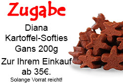 Zugabe Diana Kartoffel-Softie Gans 200g