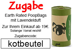 Futterfreund Zugabe Earth Rated PoopBags