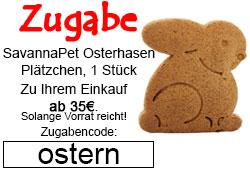 Osterhase Zugabe ab 35€