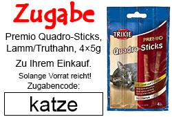 Premio Quadro Sticks Zugabe